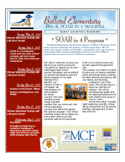 Ballard Elementary Summer VPK Program