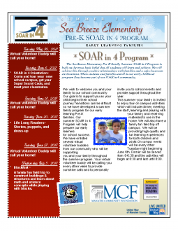 Sea Breeze summer program