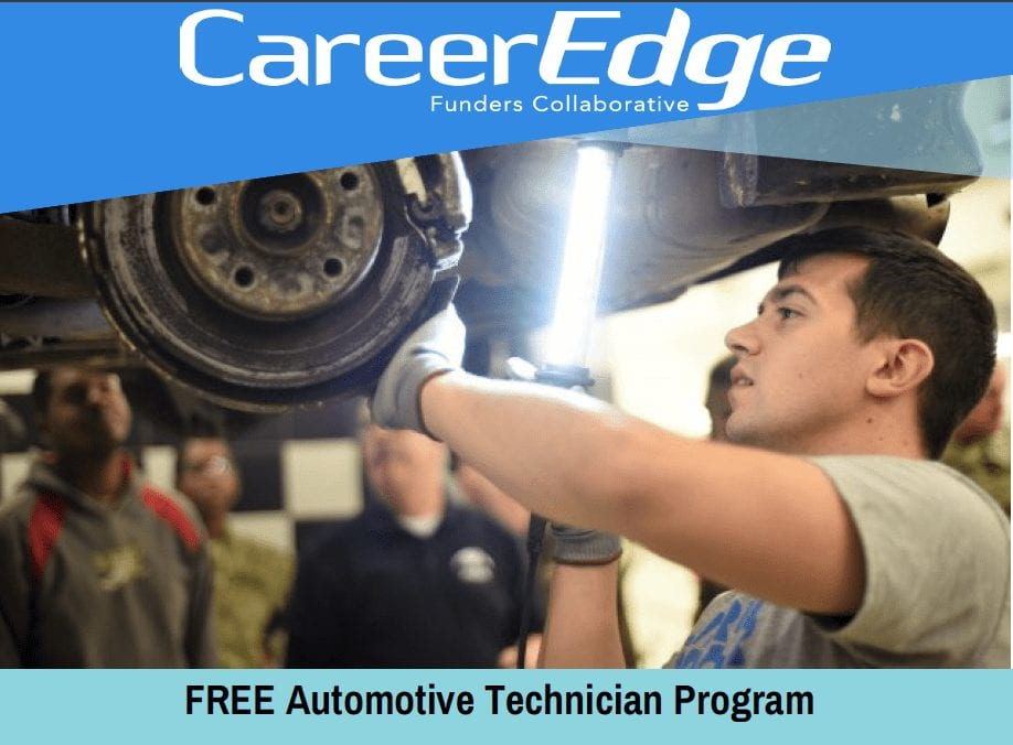 Free Auto Training Flyer